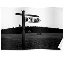 Johnson Farm gift shop  Poster