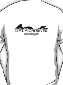 AtHighdriver Stickerss. T-Shirt