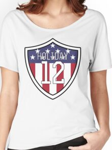 Lauren Holiday #12   USWNT Women's Relaxed Fit T-Shirt