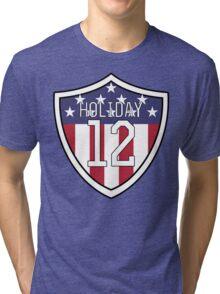 Lauren Holiday #12 | USWNT Tri-blend T-Shirt