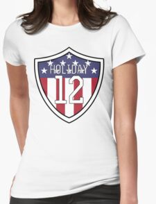 Lauren Holiday #12 | USWNT Womens Fitted T-Shirt