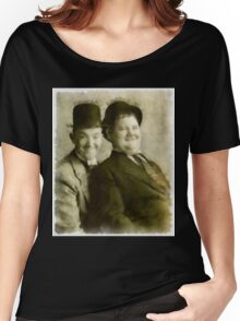 Laurel and Hardy by John Springfield Women's Relaxed Fit T-Shirt
