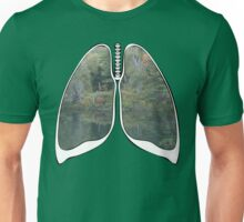 Lungs - National Park Lake Unisex T-Shirt