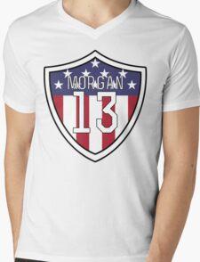 Alex Morgan #13 | USWNT Mens V-Neck T-Shirt