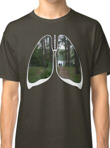 Lungs - Walking into the future Classic T-Shirt