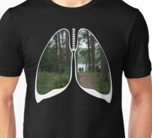 Lungs - Walking into the future Unisex T-Shirt