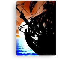 The Black Pearl Canvas Print