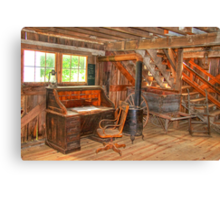 Krug Village Grist Mill-2 Canvas Print