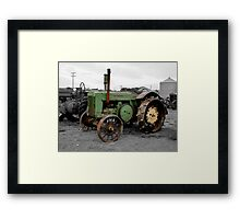 Workhorse Of The Prairies Framed Print