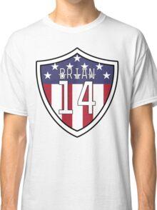 Morgan Brian #14 | USWNT Classic T-Shirt