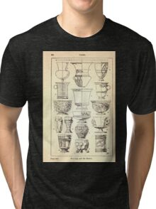 A Handbook Of Ornament With Three Hundred Plates Franz Sales Meyer 1896 0360 Vases Cup Beaker Tri-blend T-Shirt