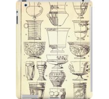 A Handbook Of Ornament With Three Hundred Plates Franz Sales Meyer 1896 0360 Vases Cup Beaker iPad Case/Skin