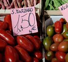 Vegetables at Italian Market by Annika Schowalter