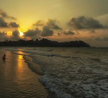Indonesian Sunset by Kasia-D