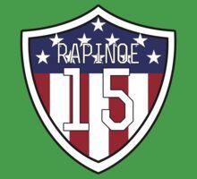 Megan Rapinoe #15   USWNT Kids Tee