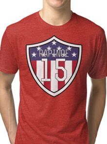 Megan Rapinoe #15 | USWNT Tri-blend T-Shirt