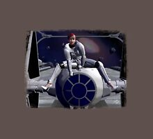 Imperial Tie Fighter (Pinup 1) Unisex T-Shirt