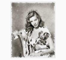 Lauren Bacall by John Springfield Unisex T-Shirt