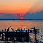 Crimson Sunset  by Lanis Rossi