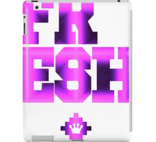 Electrix Rubix | Too Fresh Shirts [Fractal Art] iPad Case/Skin