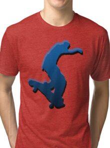 skateboard Tri-blend T-Shirt