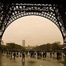 Rainy Day in Paris by Virginia Kelser Jones