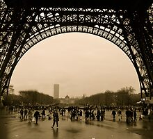 Rainy Day in Paris by Virginia Kelser Jones