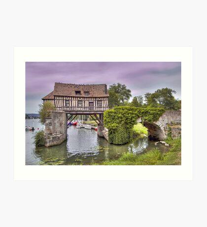 Le Vieux Moulin - Vernonette Art Print