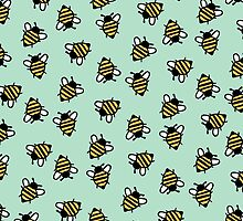 Bumble Bees by allysonjohnson