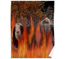 Burning... Poster