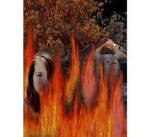 Burning... Photographic Print