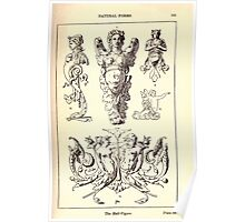 A Handbook Of Ornament With Three Hundred Plates Franz Sales Meyer 1896 0121 Natural Forms Half Figure Poster