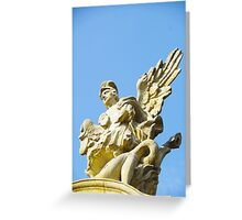 The Golden Angel Greeting Card