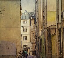 Lovers in the Latin Quarter by dawne polis