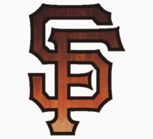 SF Giants - Watercolor Kids Clothes