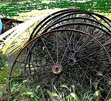 Wheels II by Al Bourassa