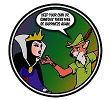 Evil Queen, Robin Hood and the pursuit of Happiness by Anna Welker
