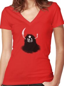 Real Nito Women's Fitted V-Neck T-Shirt