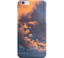 Yellow clouds iPhone Case/Skin