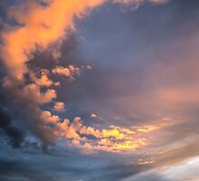 Yellow clouds by Forestpictures