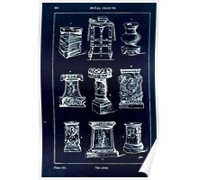 A Handbook Of Ornament With Three Hundred Plates Franz Sales Meyer 1896 0396 Metal Objects Altar Inverted Poster