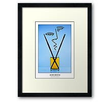Cocktails with Picasso - Titled print Framed Print