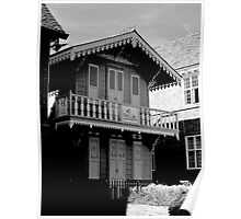 Charles Dickens Chalet Poster