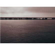 Life by the Parana River... Photographic Print