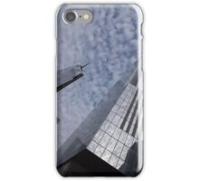 Fascinated with Manhattan - Sky, Glass and Skyscrapers iPhone Case/Skin