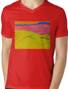 By Muckish 1 - Donegal Mens V-Neck T-Shirt