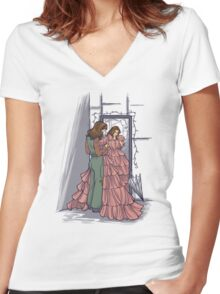 The Shindig Dress Women's Fitted V-Neck T-Shirt