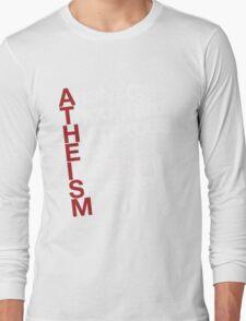 Atheism - white Long Sleeve T-Shirt