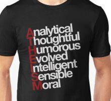 Atheism - white Unisex T-Shirt