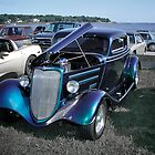 Early 30's Ford Coupe - Custom Car Series by Jack McCabe